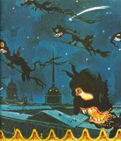 Ночь на балаганах. 1911 г.