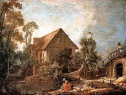 Мельница в Шарантоне (Фр. Буше)