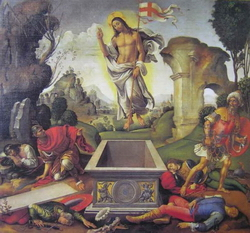Воскресение Христово (Рафаэлино дель Гарбо)