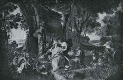 Бахус и Ариандна (Жан-Франко де Трой)