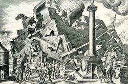 Разрушение Вавилона (М. ван Гэмскерк)