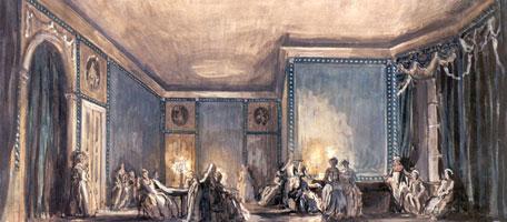 Сцена бала. 1919 г.