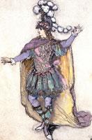 Виконт Ренэ де Божанси в образе Ринальдо. 1907 г.