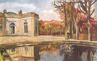 Версаль. Сад Трианона. 1911 г.