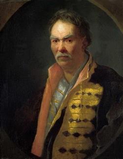 Портрет напольного гетмана (Никитин И.Н., 1720-е гг.)