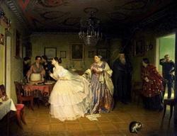 Сватовство майора (Федотов П.А., 1848)