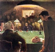 В игорном доме. 1910 г.