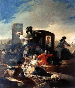 Гончарный рынок (Гойя)