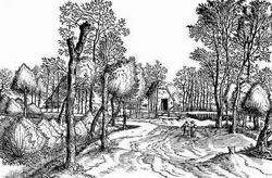 Пейзаж из серии Маленких брабантских и кампинских пейзажей