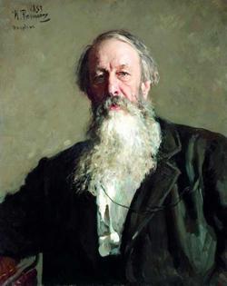 Портрет В.В. Стасова (Репин И.Е., 1883)