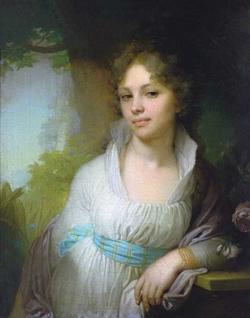 Портрет М.И. Лопухиной (В.Л. Боровиковский, 1797 г.)