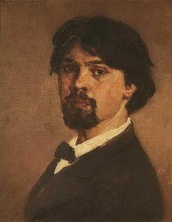 Автопортрет (Суриков В.И., 1879)