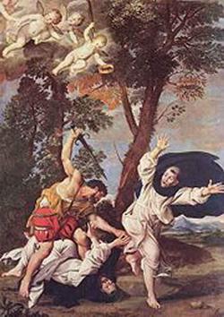 Убиение св. Петра Доминиканца (Доменикино)