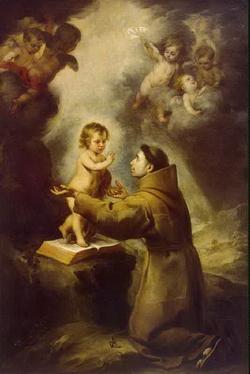 Видение св. Антония Падуанского (Мурильо)