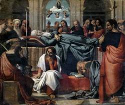 Смерть и успение Пресвятой Богородицы (Фернандо де Льянос)
