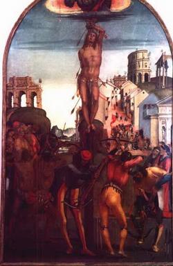Мучение святого Севастиана (Лука Синьорелли)