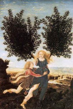 Аполлон и Дафна (Антонио дель Поллайуоло)