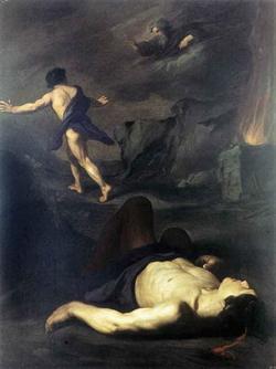 Каин и Авель (Пьетро Новелли)