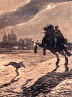 """""""За ним повсюду Всадник медный"""". 1905 г."""