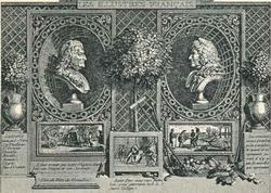 Виньетка из серии Les Illustres Francais (Ш. Марилье)
