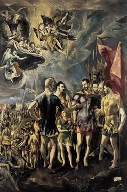 Мучение святого Маврикия (Греко)