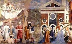 Обретение Животворящего Креста (Пьеро ди Фрачески)