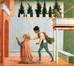 Мучение святой Лучии (Доминико Венециано)