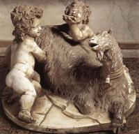 Ярослав Куковски. Рим, галерея Боргезе. Изображение младенца Зевса, и сатира