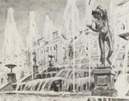 Петергоф. Большой каскад. 1901 г.