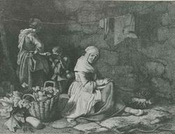 Торговка каштанами (Ф. Лондоньо)