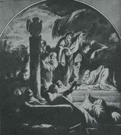 Воскрешение Лазаря (Франческо Тревисани)