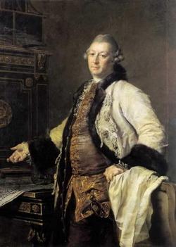 Портрет А.Ф. Кокоринова (Д.Г. Левицкий, 1769 г.)