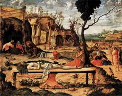 Положение во гроб (Карпаччио)