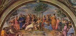 Парнас (Рафаэль, фреска в Ватиканских станцах)