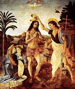 Крещение Господне (Андреа дель Верроккио)