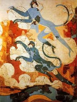 Синие обезьяны (Критское искусство)
