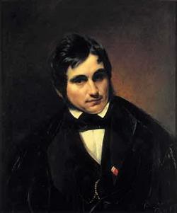 Портрет Ф.А. Бруни (Моллер Ф.А., 1840 г.)