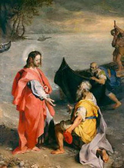 Призвание апостола Петра (Фредерико Бароччио)