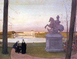 Версаль. У Курция. 1897 г.