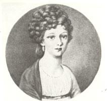 Е. Гроппе (бабушка А.Н. Бенуа). (90-е г. XVIII в.)