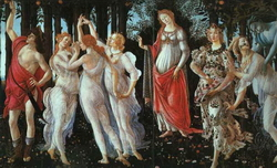 Весна (Сандро Боттичелли, фрагмент)