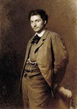 Портрет художн. Ф.А. Васильева (И. Крамской)