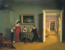 Семейный портрет (Толстой Ф., 1830 г.)