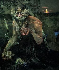 Пан (М.А. Врубель, 1899)