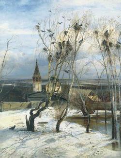 Грачи прилетели (Саврасов А.К., 1871)