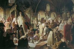 Никита Пустосвят. Спор о вере (Перов В.Г., 1880—1881 г.)