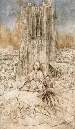 Св. Варвара (Ян ван Эйк)