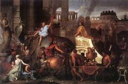 Вступление Александра в Вавилон (Ш. Лебрен)