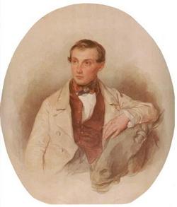 Портрет скульптора П.К. Клодта (Соколов П.Ф.)