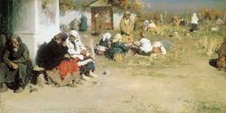 Радоница (Перед обедней) (А.Е. Архипов, 1892)